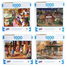 Nostalgia - Deluxe Artistic 1000 pcs Puzzle Collection