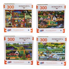 Hometown - Deluxe Artistic 300 pcs Puzzle Collection