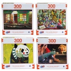 Puzzlers Choice - Deluxe Artistic 300 pcs Puzzle Collection