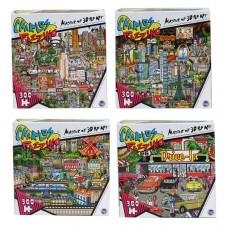 Charles Fazzino - Deluxe Artistic 300 pcs Puzzle Collection