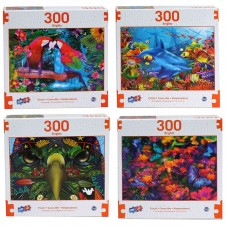 Brights - Deluxe Artistic 300 pcs Puzzle Collection