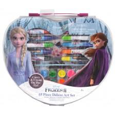 Frozen 2 - 65 pc Art set in Shaped Case