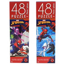 Spider-Man Tower box puzzle - 48 pc