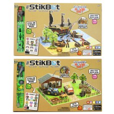 Stickbot Movie Set - Farm & Pirate