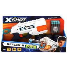 Zuru X Shot Excel Reflex 6 w/8 Darts and 3 Cans