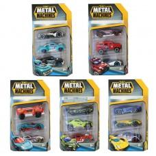 Metal Machines Cars 3-pack Asst