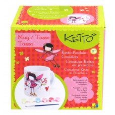 KETTO PORCELAINE CREATION - FAIRY MUG