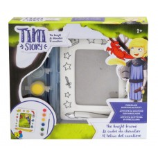 TINI STORY PORCELAIN PAINTING ACTIVITY - THE KNIGHT FRAME