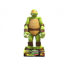 "TMNT Big-Figs Colossal 48.5"" Michelangelo Turtle w/storage space"