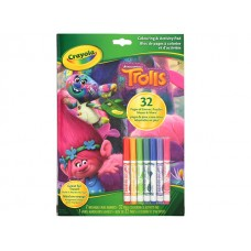 Trolls Colouring & Activity Pad