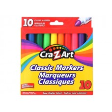 Cra-Z-Art Broadline Classic Markers Non Wash 10 ct