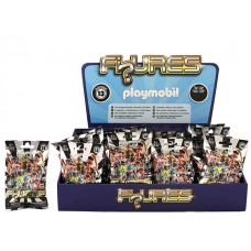 Playmobil Blind Bag Figures Boys Series 13 w/display