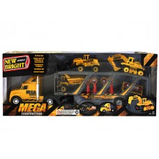 Construction Hauler Playset  w/ Free-wheeling trucks
