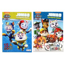 PAW Patrol Jumbo Colouring & Activity Book - 96 pages Asst 2
