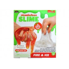 Nickelodeon Fire & Ice Slime Kit