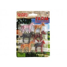 Creatures of the World Mini Horses  -English packaging
