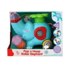 Pop n Hoop Roller Elephant