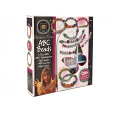 Fashion Time ABC Beads w/1200 beads