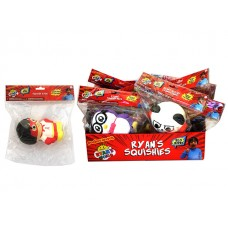 Ryan's World Soft'n Slo Squishies Asst w/display