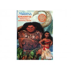 Moana Coloring & Activity Book w/192 pages