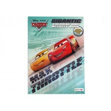 Cars - Coloring & Activity Book w/192 pages