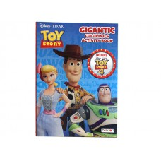 Toy Story - Coloring & Activity Book w/192