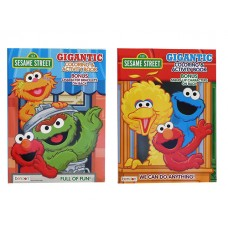Sesame Street - Coloring & Activity Book w/192 pages