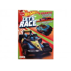Hot Wheels - Coloring & Activity Book w/192 pages