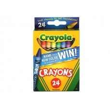 Crayola Name the New Color Crayons 24 ct