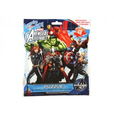 Avengers Foil Bag Puzzle w/48 pcs