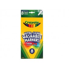 Crayola Ultra-Clean Washable Markers 8 ct Fine Line