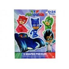 PJ Masks 5 Shaped Puzzle