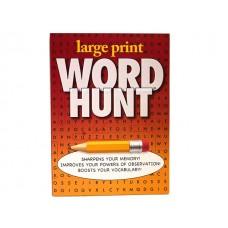 Large Print Word Hunt Activity Book
