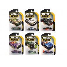 Metal Machines Die-Cast Vehicles Asst