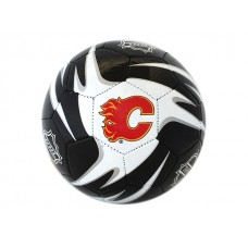 NHL Flames S5 Training Soccer Ball - Deflated