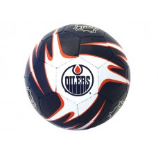 NHL Oilers S5 Training Soccer Ball - Deflated