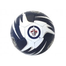 NHL Jets S5 Training Soccer Ball - Deflated
