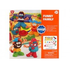 Funny Family Dough Set