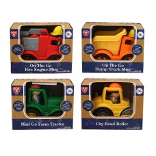 On The Go Mini Trucks Asst