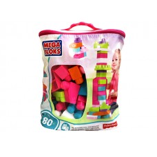 Big Building Bag - Pink W/ 80 Pcs