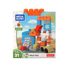 Mega Blocks Work Site - 31pcs