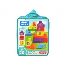 Mega Blocks - 1-2-3 Count w/ 20 Pcs
