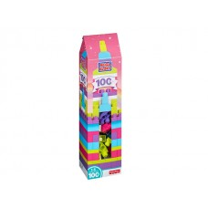 Mega Bloks Sky High Building Tower w/100 pcs Pink