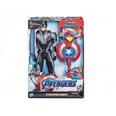 Avengers Titan Hero Series Power FX Captain America -French