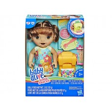 Baby Alive Snackin' Shapes Baby - Brunette