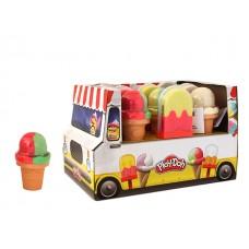 Play-Doh Ice Pop N Cones Asst w/display