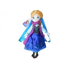Disney Frozen 14 Inch Plush Anna Backpack