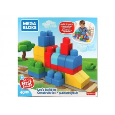 Mega Bloks Let's Build it w/40 pcs