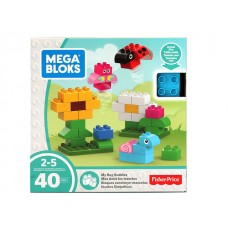 Mega Bloks My Bug Buddies w/40 pcs