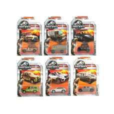Matchbox Jurassic World Die Cast Vehicles Asst